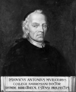 Portrait de Lodovico Antonio Muratori