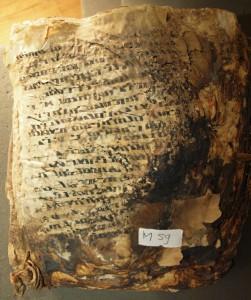 dernière page du ms. contenant les apophtegmes de Sarmatas. © A. Desreumaux